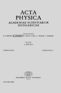 Acta Physica Hungarica cover