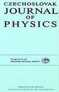 Czechoslovak Journal of Physics cover