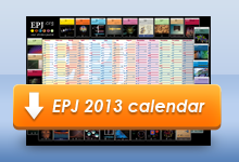 Download EPJ 2013 calendar in PDF